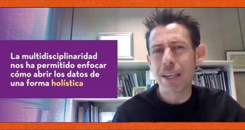 Roberto Magro, coordinador del grupo de trabajo de datos abiertos de la FEMP