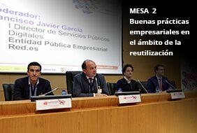 Mesa 2: buenas prácticas empresariales en el ámbito de la reutilización